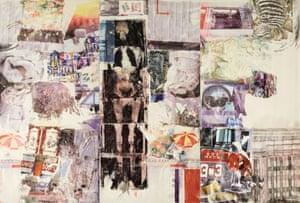 Robert Rauschenberg Mirthday Man [Anagram (A Pun)] 1997