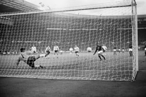 England's semi-final win over Portugal was more straightforward, Bobby Charlton's double putting the hosts out of sight before the tournament's top scorer, Eusebio, added a late consolation from the penalty spot with the last of his nine goals in the tournament.