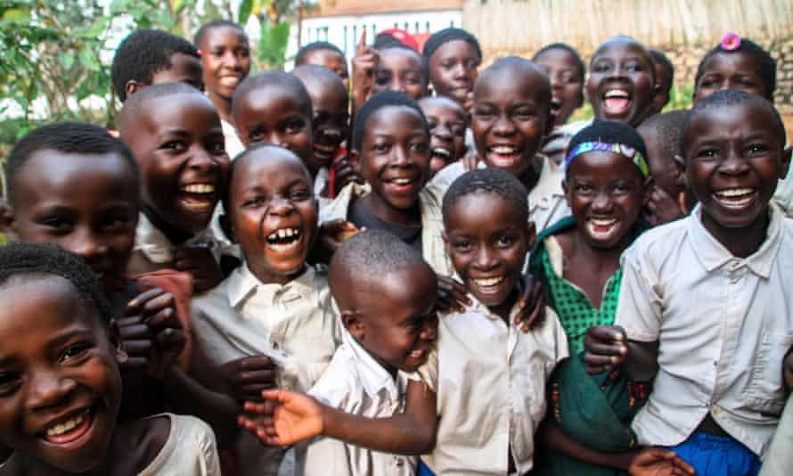 Schoolchildren, Democratic Republic of the Congo