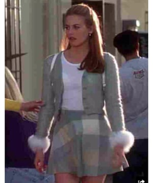Alicia Silverstone as Cher Horowitz in 1995's Clueless.