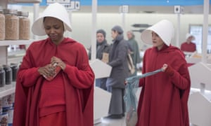 The handmaids come over all Mean Girls.