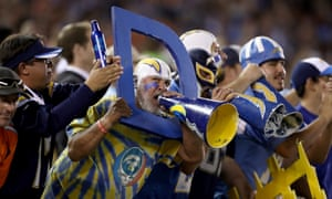 San Diego Chargers fans