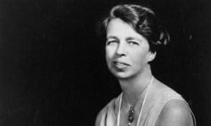 American humanitarian and social activist Eleanor Roosevelt (1884-1962), circa 1930.