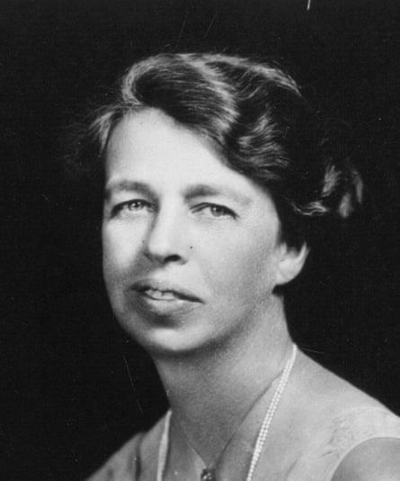Eleanor Roosevelt, first lady, humanitarian and social activist, circa 1930.