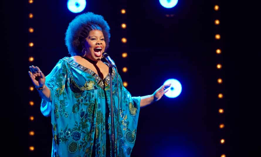 Amber Riley in Dreamgirls at Savoy theatre