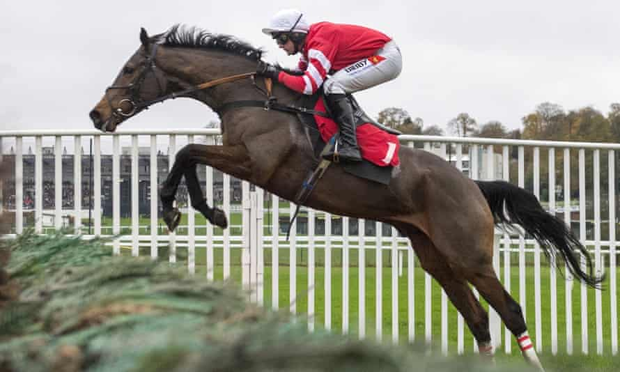 Coneygree pictured in action at Sandown in 2015.