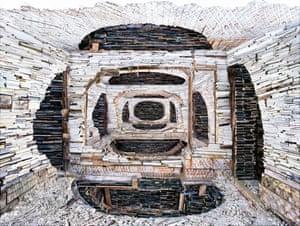 Destroyed House Krasnoyarsk 1, 2010