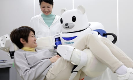 Japan lays groundwork for boom in robot carers