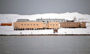 The Russian Bellingshausen station in Antarctica