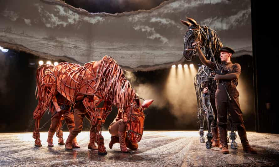 War Horse at the National Theatre, one of the inspirations for The Walk.