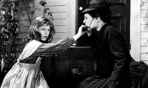 Child star Patty Duke with Anne Bancroft in The Miracle Worker (1962).