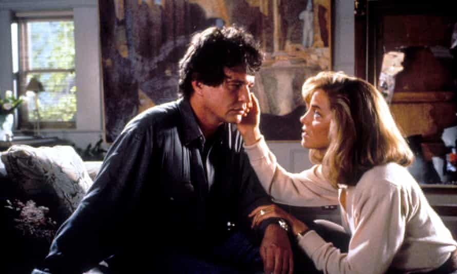Tom Berenger and Greta Scacchi in Shattered