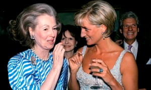 Raine Spencer with Diana in 1997.