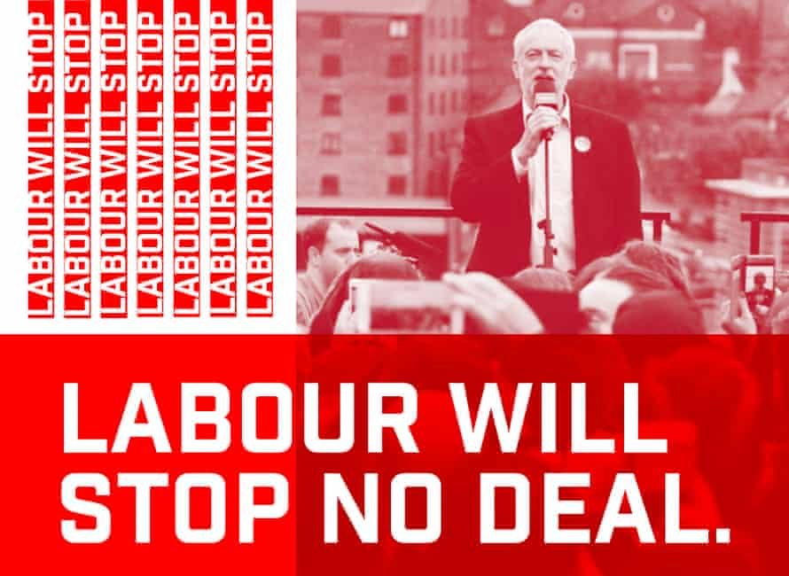 A cropped Facebook advert for the Labour Party.