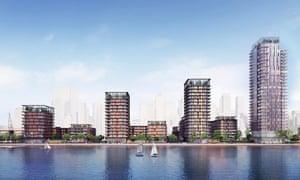 Westferry printworks proposed development.