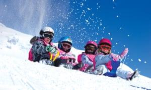 St Anton, Austria with Esprit Ski