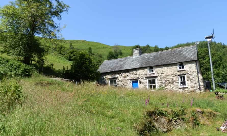 Bron Yr Aur cottage, near Machynlleth, Powys