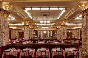 Brasserie Zedel: 'part restaurant, part cocktail lounge, part cabaret club.'
