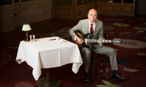 Mick Jones in the Emin Room at 34 Mayfair on 13 July 2016