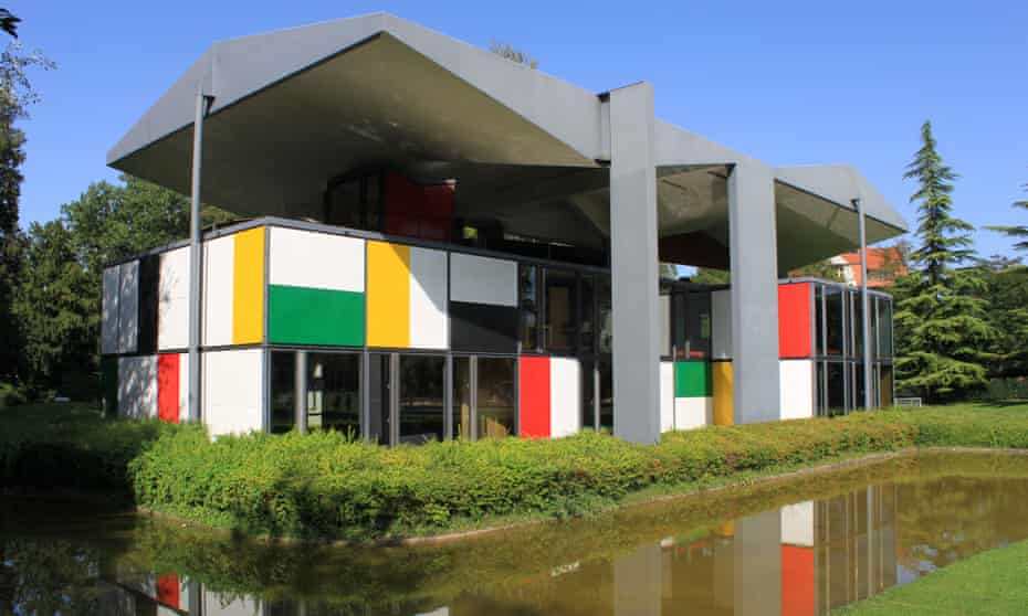 The Pavilion Le Corbusier on Lake Zurich.