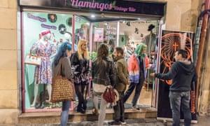 Flamingos Vintage Shop in Bilbao