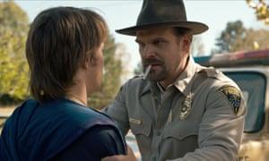 David Harbour as Hopper in Stranger Things