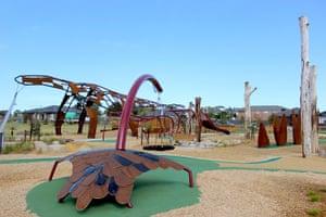 The Megasaurus playground