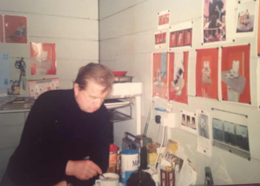Francis Bacon liked the cricketing series so much that he stuck photographic images of them on his kitchen wall.