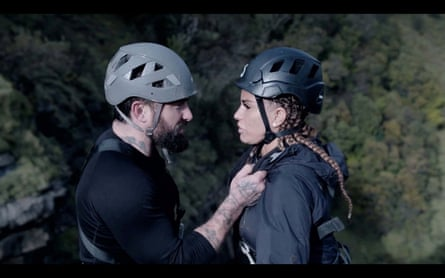 Ant Middleton and Katie Price in Celebrity SAS: Who Dares Wins.