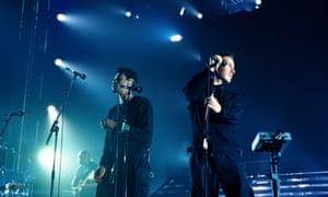 Massive Attack live at Brixton Academy.