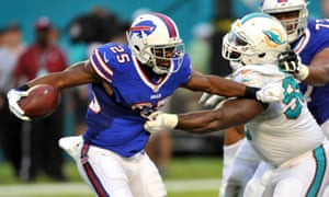 LeSean McCoy (left) has played for the Buffalo Bills and Philadelphia Eagles