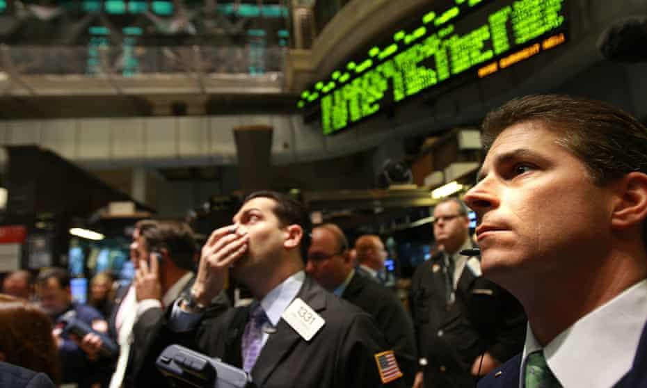 New York Stock Exchange, October 2008