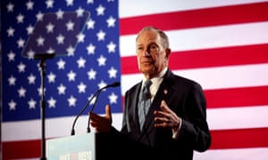 Michael Bloomberg: under fire from media and opponents.