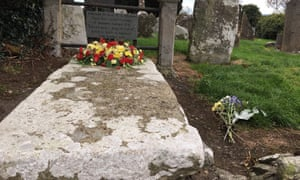 Edward Bruce's grave in Faughart, Co Louth, Ireland