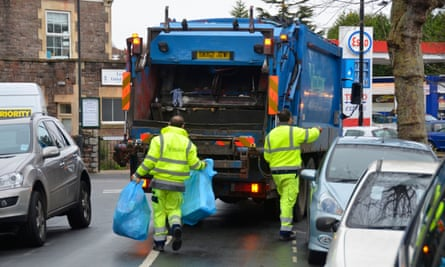 Rubbish collection is among the services said to be under threat in some areas.