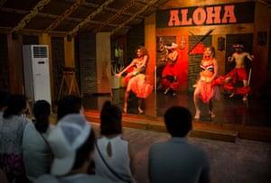 A Hawaiian themed show
