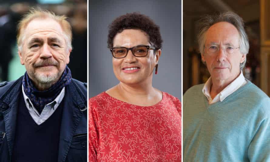 Signatories of the letter Brian Cox, Jackie Kay, Ian McEwan.