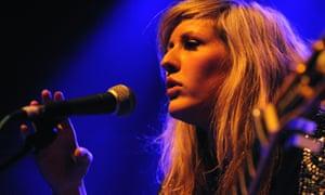 Ellie Goulding performing at the Shepherds Bush Empire