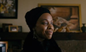 "Zoe Saldana as Nina Simone in the film ""Nina"""