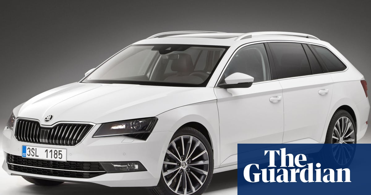 Skoda Superb Estate Car Review It Looks Like A Cartoon
