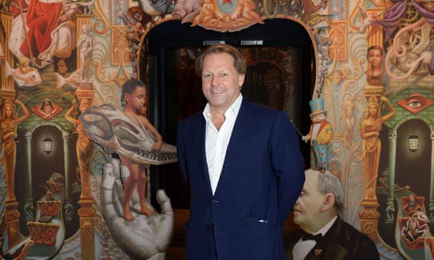 David Ross, chairman of the Royal Opera House and Tory benefactor.