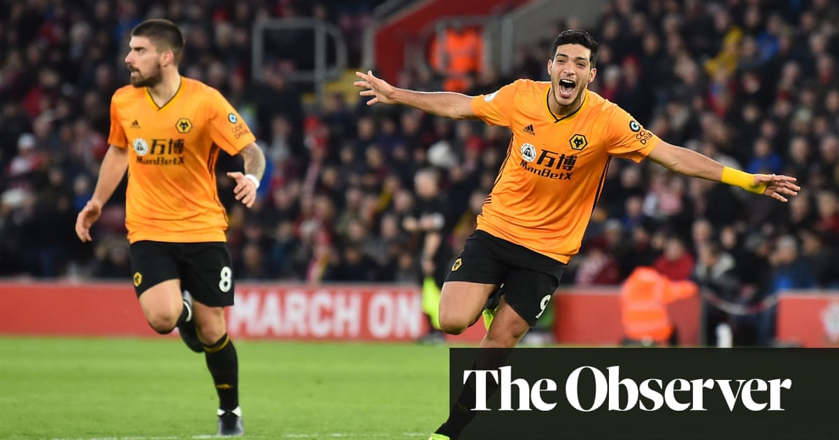 Raúl Jiménez proves a talisman in Wolves' 3-2 fightback at Southampton
