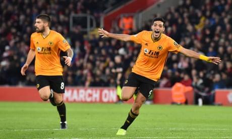 Raúl Jiménez proves a talisman in Wolves' 3-2 fightback at Southampton