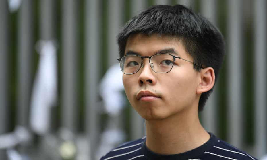 Hong Kong democracy activist Joshua Wong
