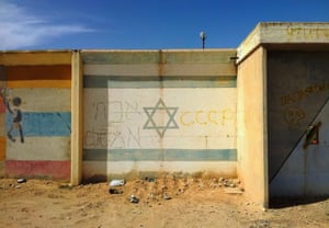 The small dusty town of Dimona was established in the Negev desert as a home for Jewish refugees who fled Arab countries
