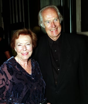 Martin with his wife, Judy.