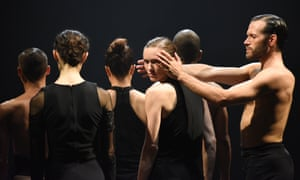 'Almost hypnotically attuned to each other': L-E-V's dancers in OCD Love.