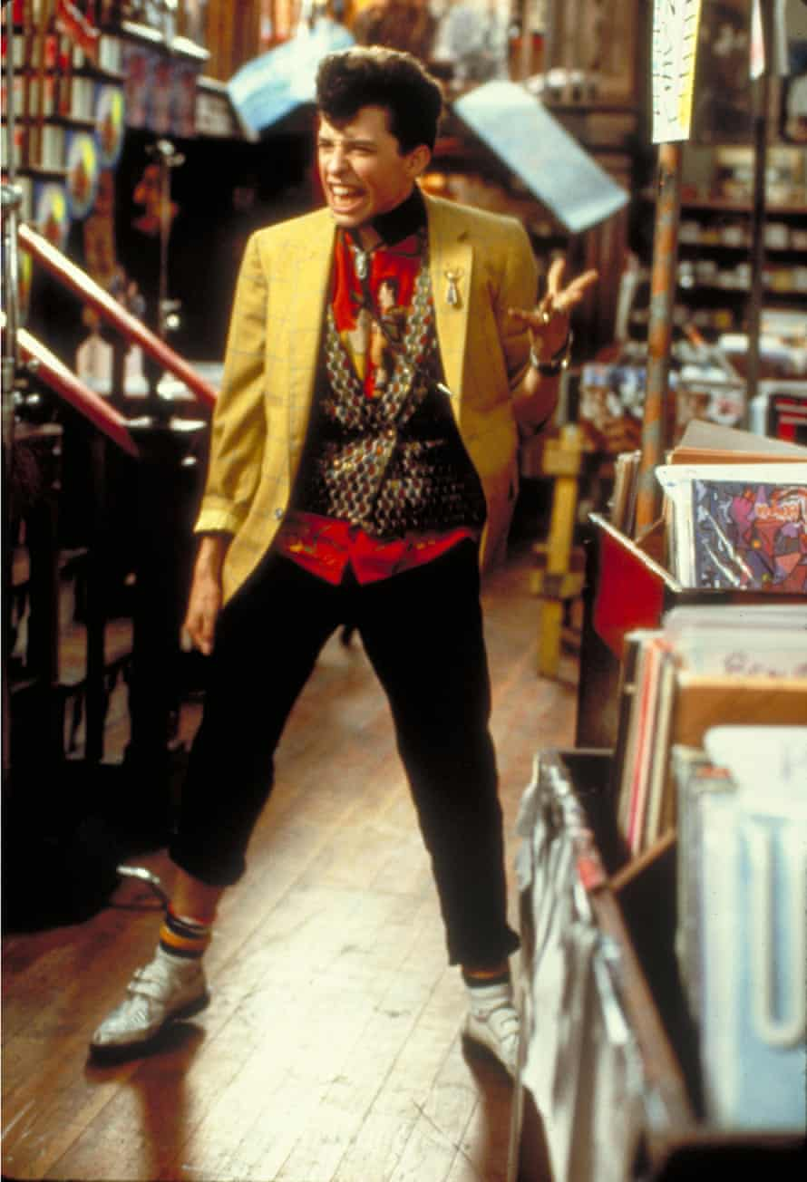 Jon Cryer as Duckie: an ironic take on the Wall Street sleazeball.