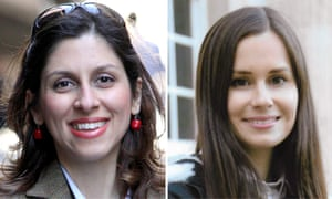 Nazanin Zaghari-Ratcliffe, left, and Kylie Moore-Gilbert, who are on hunger strike.