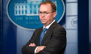 Donald Trump has named Mick Mulvaney as acting White House chief of staff.